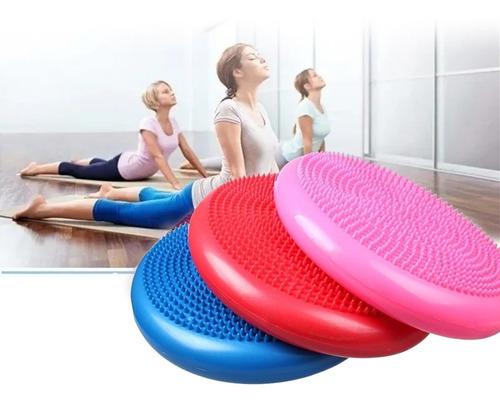 Imagen 1 de 9 de Cojin Disco Propiocepcion 34 Cm Equilibrio Estabilidad  Yoga