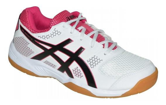 Asics Zapatilla Voley Handball Tenis Mujer Gel Rocket 8 A
