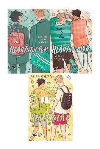 Imagen 1 de 5 de Pack Heartstopper 1 2 Y 3 (3 Libros) - Alice Oseman