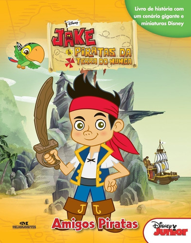 Imagem 1 de 2 de Jake E Os Piratas Da Terra Do Nunca - Amigos Piratas
