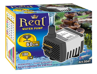Bomba Agua Sumergible Fuente Pecera Acuario 180l/h 60cm 5041