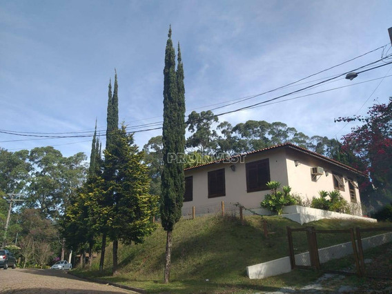 Casa Térrea Com 3 Dormitórios Para Alugar, 340 M² Por R$ 4.000/mês - Granja Viana Ii - Ca17894