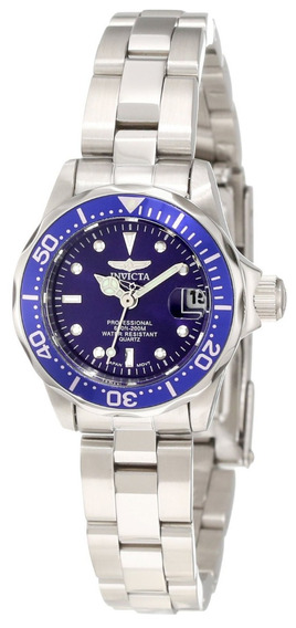 Invicta 9177 Watch Pro Diver Collection, Silver-tone