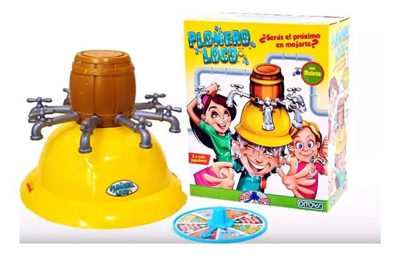Juego De Mesa Plomero Loco 14 Pieza Infantil Original Ditoys
