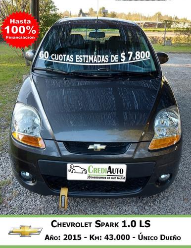 Chevrolet Spark 1.0 Ls 2015 Único Dueño Autos Financiados