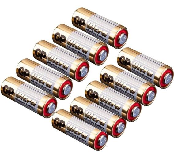 Bateria 12v 23a Cartela 10 Unidades Controle Remoto Portão