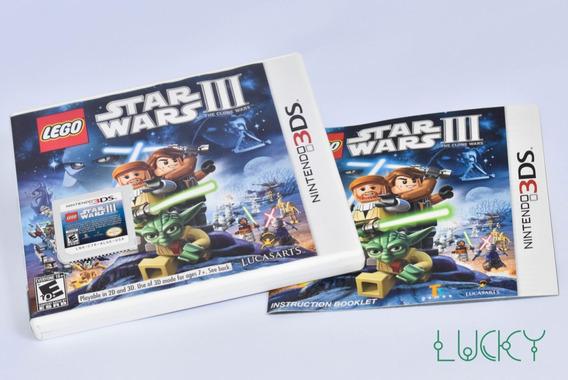 Lego Star Wars 3 - Nintendo 3ds/2ds