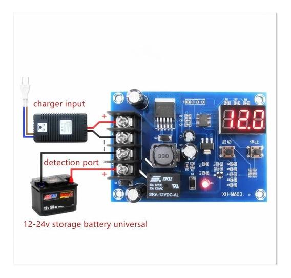 Controlador De Carga 20a 12/24v Bateria Ajustável