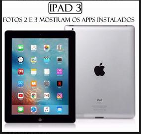 iPad G3 16g De Mostruário De Loja Muito Novo, Nunca Usado!