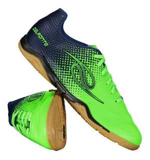 Chuteira Dalponte Flash Futsal Verde