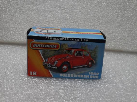 1962 Volkswagen Bug Fusca 60 Anos - Matchbox - 1:64 Loose