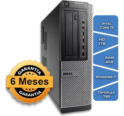 Imagem 1 de 3 de Desktop Dell Optiplex 790 Core I5 Hd 1tb 4gb Ram - Windows7