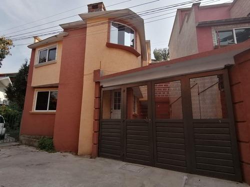 Estrene Casa En San Lucas Xochimanca, Xochimilco