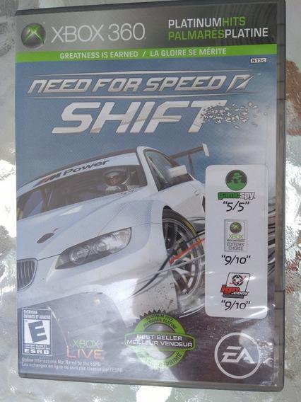 Need For Speed Shift Xbox360 Novo (lacrado)