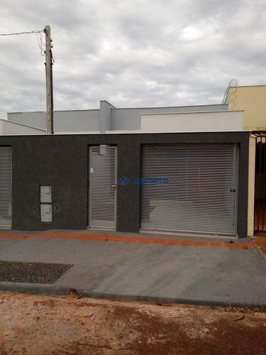Casa À Venda, 82 M² Por R$ 228.000,00 - Jardim Montecatini - Londrina/pr - Ca1628
