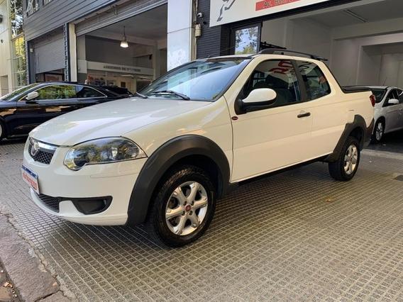 Fiat Strada 1.3 Jtd Doble Cabina Modelo 2017!!!
