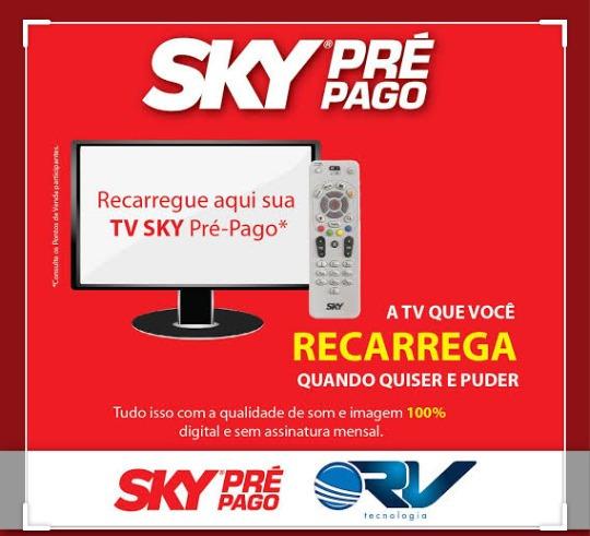 Sky Pre Pago Modelo Receptor Slim Hd
