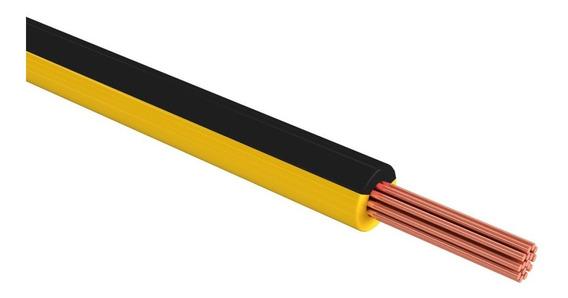 1 Cable Thw Cal 10 Color Negro Rollo 100m Sanelec