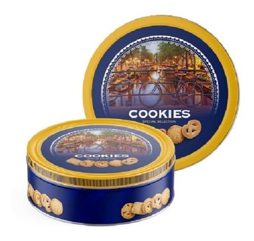 Imagen 1 de 5 de Galletitas Danesas En Lata Butter Cookies 454gr Envio Gratis
