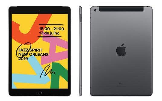 iPad Cinza Espacial 10,2 Wi-fi 128gb A10 - Mw6e2bz/a