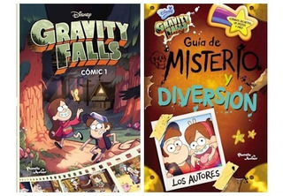 Gravity Falls 2 Libros - Comic 1 Y Guia Misterio Diversion