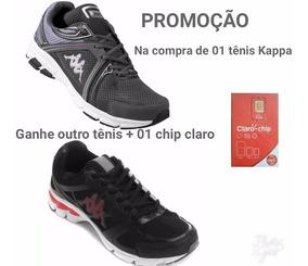 Tênis Kappa Original Compre 1 E Ganhe Outro Mas Brinde