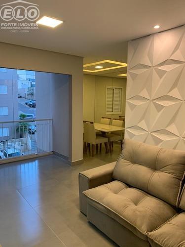 Lindo Apartamento Para Venda Em Salto, 100% Mobiliado E Pronto Para Morar, Boa Localização Com Muito Verde Ao Redor, Próximo A Rodovia Santos Dumont E - Ap01839 - 69014527