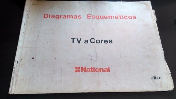 Esquema Eletrico Tvs A Cores National Moodelos Antigos C161