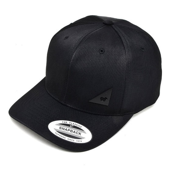 Boné Aba Curva Snapback Triangle Sheep Lost - 21726541 Preto