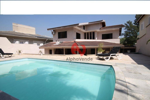 Imagem 1 de 30 de Alphaville 10 - Casa Com 4 Suítes À Venda, 402 M² - Alphaville - Santana De Parnaíba/sp - Ca5816