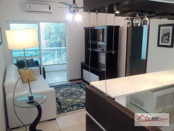 Apartamento Com 1 Dormitório À Venda, 60 M² Por R$ 315.000,00 - Itaipu - Niterói/rj - Ap0011