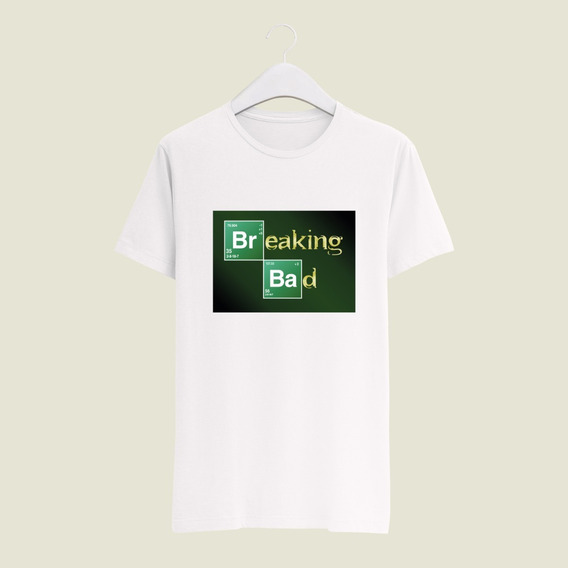 Playera Yasbek Sublimada Netflix Breaking Bad Serie