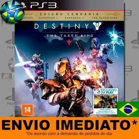 Jogo Ps3 Destiny The Taken King Legendary Edition Psn Play 3