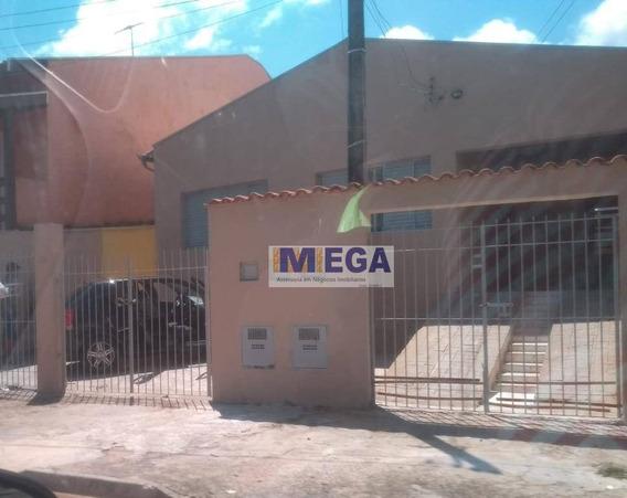 Casa Com 3 Dormitórios À Venda, 180 M² Por R$ 250.000 - Jardim Itatiaia - Campinas/sp - Ca1000