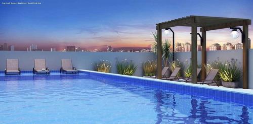 Apartamento Para Venda Em São Paulo, Sacomã, 2 Dormitórios, 1 Banheiro, 1 Vaga - Cap3612_1-1793544