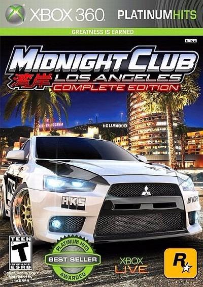 Midnight Club Los Angeles Complete (midia Fisica) Xbox 360
