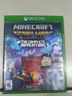 Minecraft Story Mode En Perfecto Estado,sin Rayones Cal:9.9