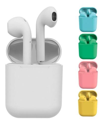 Auriculares Inalambricos Bluetooth In Ear Recargable Usb I12