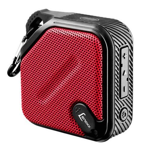 Imagem 1 de 4 de Caixa De Som Portátil Bt501 Bluetooth Mp3 Usb Sd Vermelho