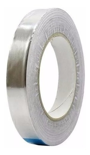 Fita Adesiva De Alumínio Ou Refletiva 18mm 45m - Hikari