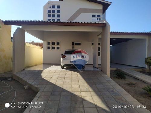 Casa Com Energia Solar Com 4 Dormitórios À Venda - Alto Da Conceição - Mossoró/rn. - Ca0018