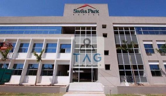 Sala Comercial À Venda/locação, 68 M² Por R$ 445.000/r$ 2.200 - Swiss Park - Campinas/sp. - Sa0045