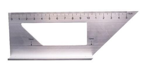 Imagen 1 de 6 de Escuadra Multifuncional Cuadrada De Aleación De Aluminio