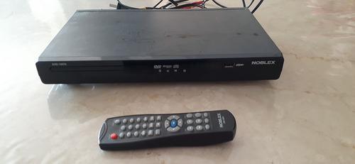 Reproductor Dvd 1557a Noblex 5.1 Usb Negro Control Cable Rca