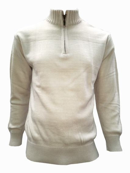 Suéter De Medio Cierre Hombre