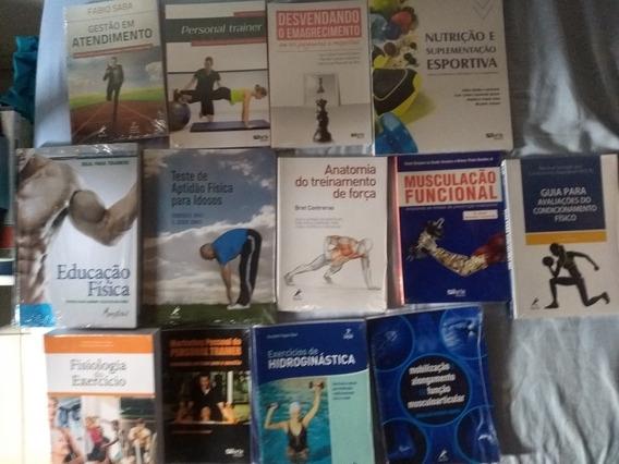 Coleção De Livros De Educação Física Bacharelado