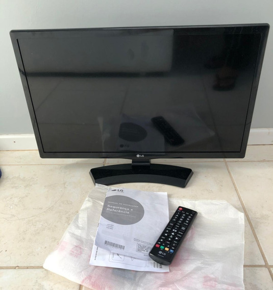 Tv Monitor Led LG 23,6´ Com Conversor Digital, Hdmi, Usb - 2