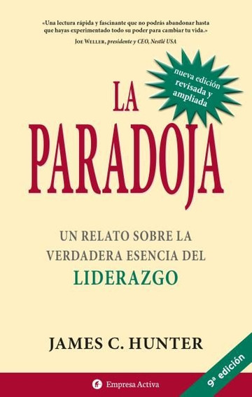 Libro La Paradoja - Hunter, James C.