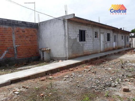 Casa À Venda, Terreno De 300 M² Por R$ 200.000 - Jardim Santos Dumont Ii - Mogi Das Cruzes/sp - Ca0589