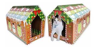 Aspca Almohadillas Para Rascar Gatos Carton Ondulado Reversi